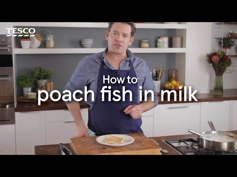 How To Poach Fish In Milk | Tesco Food