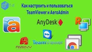 Как настроить и пользоваться TeamViewer и AeroAdmin