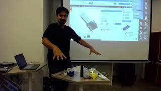3D Printed Microscope - Hackware v4.4