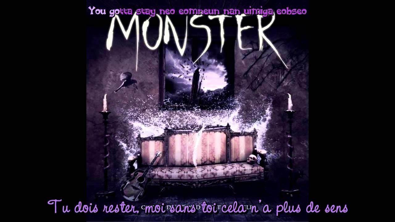 CHEUN DUNG (MBLAQ) - MONSTER [VOSTFR/Karaoke]