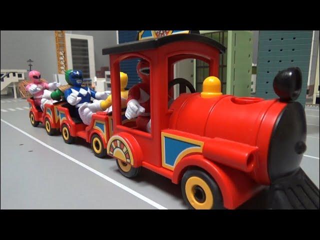 파워레인저 마이티몰핀, 뜻밖의 기차행 Power Rangers Mighty Morphine, Unexpected train