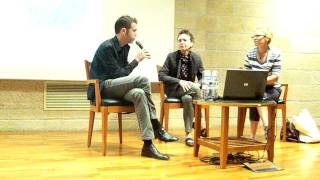 לורי אנדרסון בשיחה עם יהלי סובול וסיגלית לנדאו