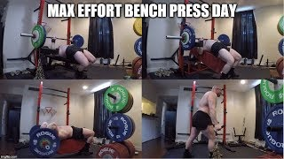 7-16-2019 Orc Mode Training -  Max Effort Chain Bench Press, Incline Press & Accessories