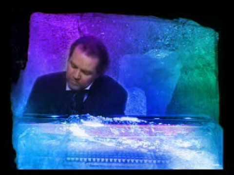 Niklas Sivelov is playing The Ice Piano by Fredrik Högberg