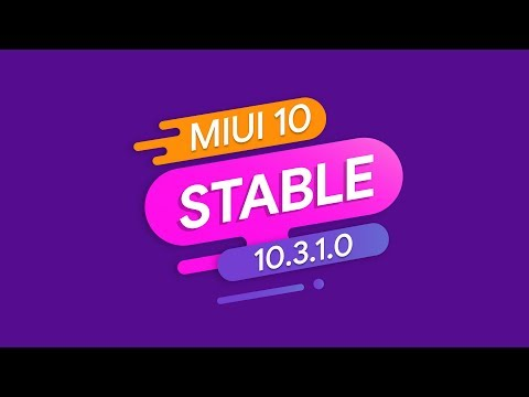 MIUI 10 GLOBAL STABLE 10.3.1.0 ДЛЯ XIAOMI MI 8 - ОБЗОР ПРОШИВКИ | 4K 60 FPS