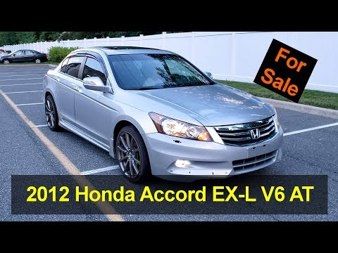 For Sale: 2012 Honda Accord EX-L Sedan V6 Auto