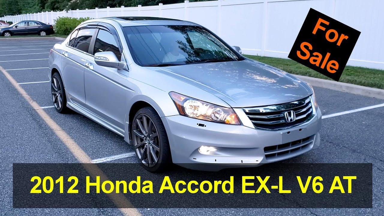 Honda Accord V6 For Sale >> For Sale 2012 Honda Accord Ex L Sedan V6 Auto