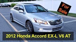 For Sale: 2012 Honda Accord EX-L Sedan V6 Auto