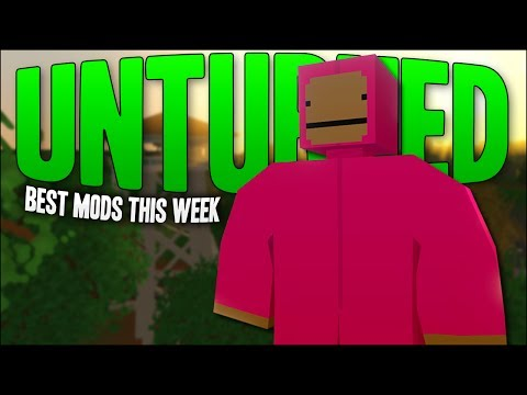 WORKING GPS, POTATO GUN & More! (Unturned Weekly Mod Reviews)