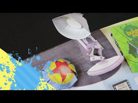 A Disney•Pixar Pop-Up Book!! (Unbox/Review)