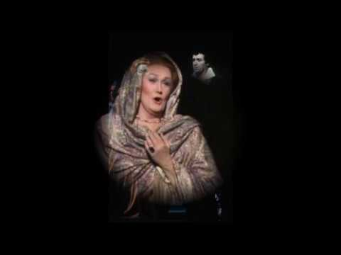 Joan Sutherland sings her best Leonora of Il Trovatore with Pavarotti (cleaned sound)