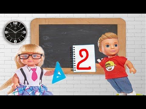 Новый ученик в классе! Первая двойка! Мультик про школу!