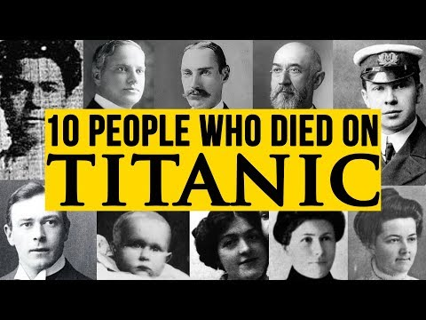 10 Real People Who Died On The Titanic