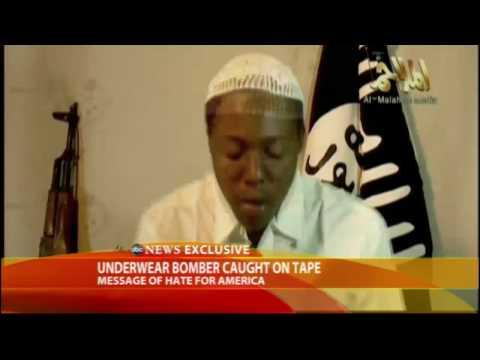 'Underwear' Bomber's Martyrdom Message