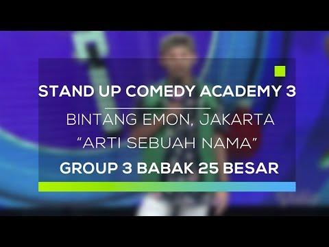 Stand Up Comedy Academy 3 : Bintang Emon, Jakarta - Arti Sebuah Nama
