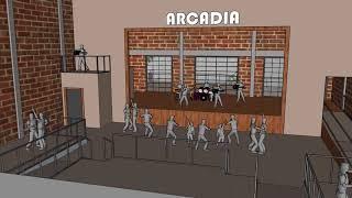 Arcadia Theater Interior Design | JK Bernhard Construction Co.