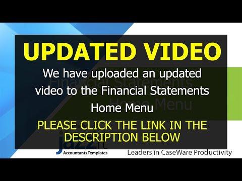 REVISED Jazzit Financial Statements Home Menu
