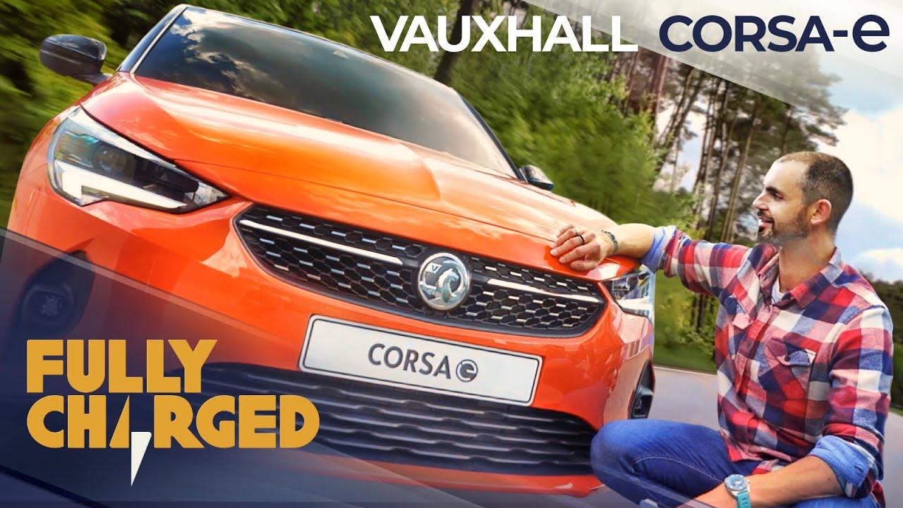 Vauxhall Corsa-e zero emission city car | Fully Charged