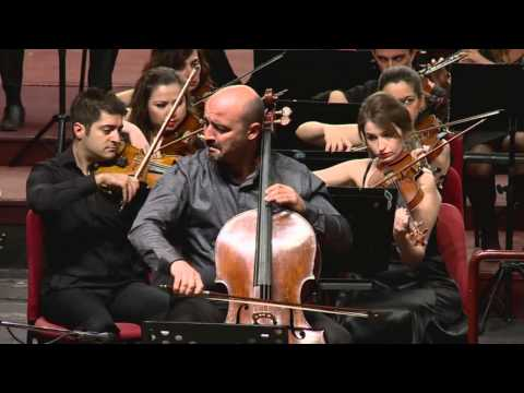 E.ELGAR CELLO CONCERTO 4.MOVEMENT CELLO:MELİH KARA