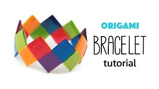 Easy Origami Bracelet Tutorial ♥︎ DIY ♥︎ Paper Kawaii