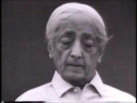 Would you speak further on time, measure and space? | J. Krishnamurti