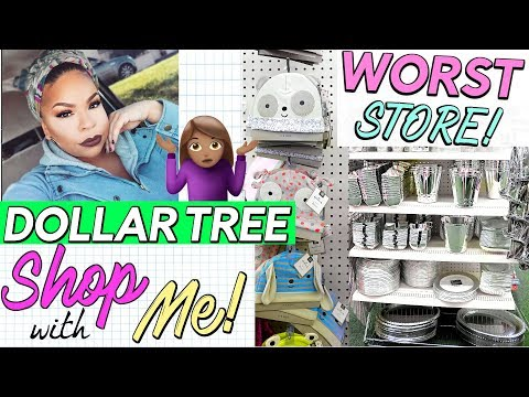 NEW DOLLAR TREE SHOP WITH ME 🎄 🏃 WORST DOLLAR TREE IN PHILLY! Sensational Finds