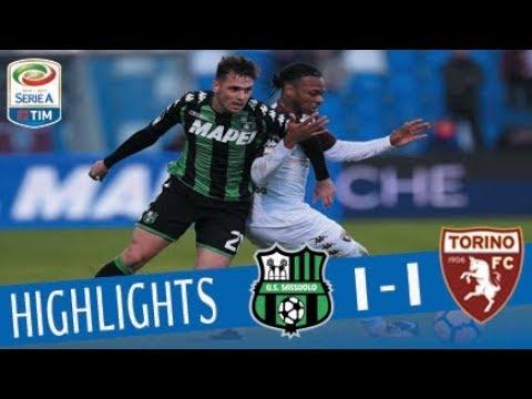 Sassuolo - Torino 1-1 - Giornata 21 - Serie A TIM 2017/18