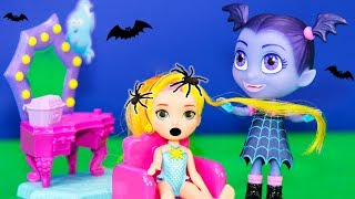 Vampirina and Sunny Day have Spooktacular Makeover with the Vampirina Vanity