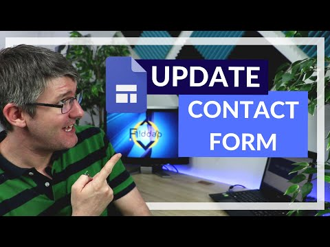 Insert a Contact or Feedback Form in Google Sites Update