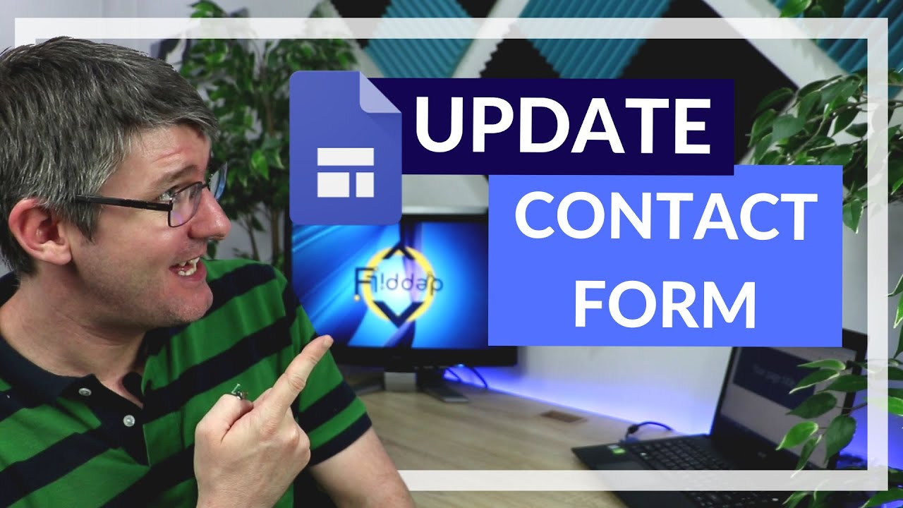 Insert A Contact Or Feedback Form In Google Sites Update Youtube