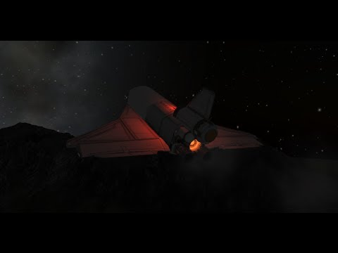 ksp how to make a space shuttle