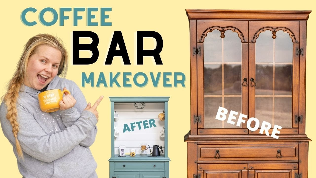 China Hutch Makeover | Upcycle Old & Outdated Furniture