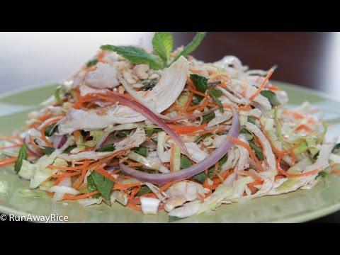 Refreshing Vietnamese Chicken Cabbage Salad (Goi Ga)