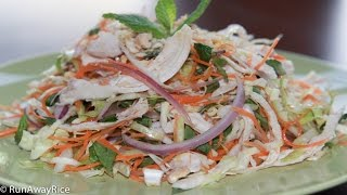 Refreshing Vietnamese Chicken Cabbage Salad (goi Ga)
