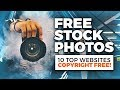 Where To Find FREE Stock Photos (Without Copyright!)