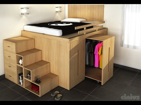 Small room ideas small bedroom ideas youtube - Small space room ideas ...