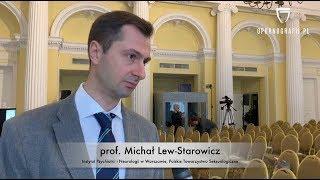 Prof. Michał Lew-Starowicz o powszechności dostępu do pornografii