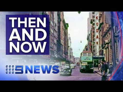 The Incredible Images Stitching Together Sydney's Past And Present | Nine News Australia