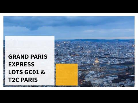 Grand Paris Express, Lots GC01 & T2C, Paris (FR)