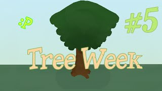 ▼ Tree Week - WEEPING TREE ! #5 - Pivot Stickfigure Animator