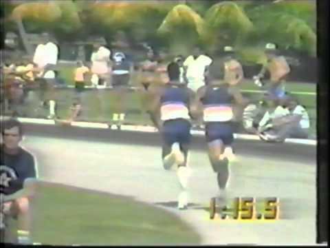 1982 Monday Night Football Superstars - Half Mile Run