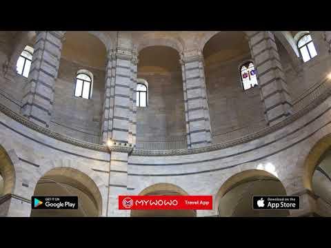 Piazza Dei Miracoli – Baptistery Interior – Pisa – Audio Guide – MyWoWo  Travel App