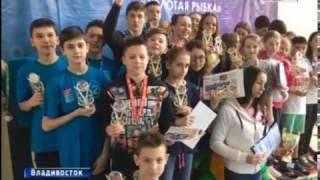 видео Всероссийский турнир по плаванию выиграла сборная Хабаровского края