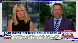 Ex-NY GOP Rep Grimm Reacts to Trump Endorsing Opponent
