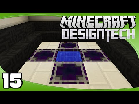 DesignTech - Ep. 15: Crystal Growth Accelerators | Minecraft