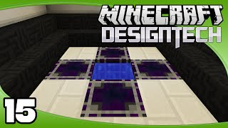DesignTech - Ep. 15: Crystal Growth Accelerators   Minecraft Custom Modpack Let's Play