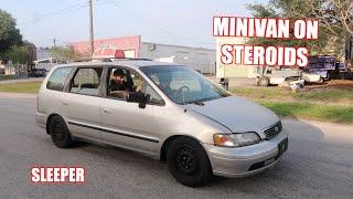 Turbo Minivan Makes Insane Power!