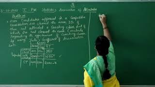 I PUC | Statistics | Association of attributes- 03