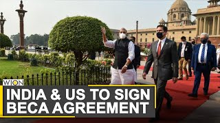 India to sign BECA military pact with United States | World News | WION News