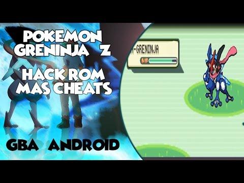 HACK ROM Pokémon Ash Greninja Z Completo + mega evoluciones- GBA/ANDROID